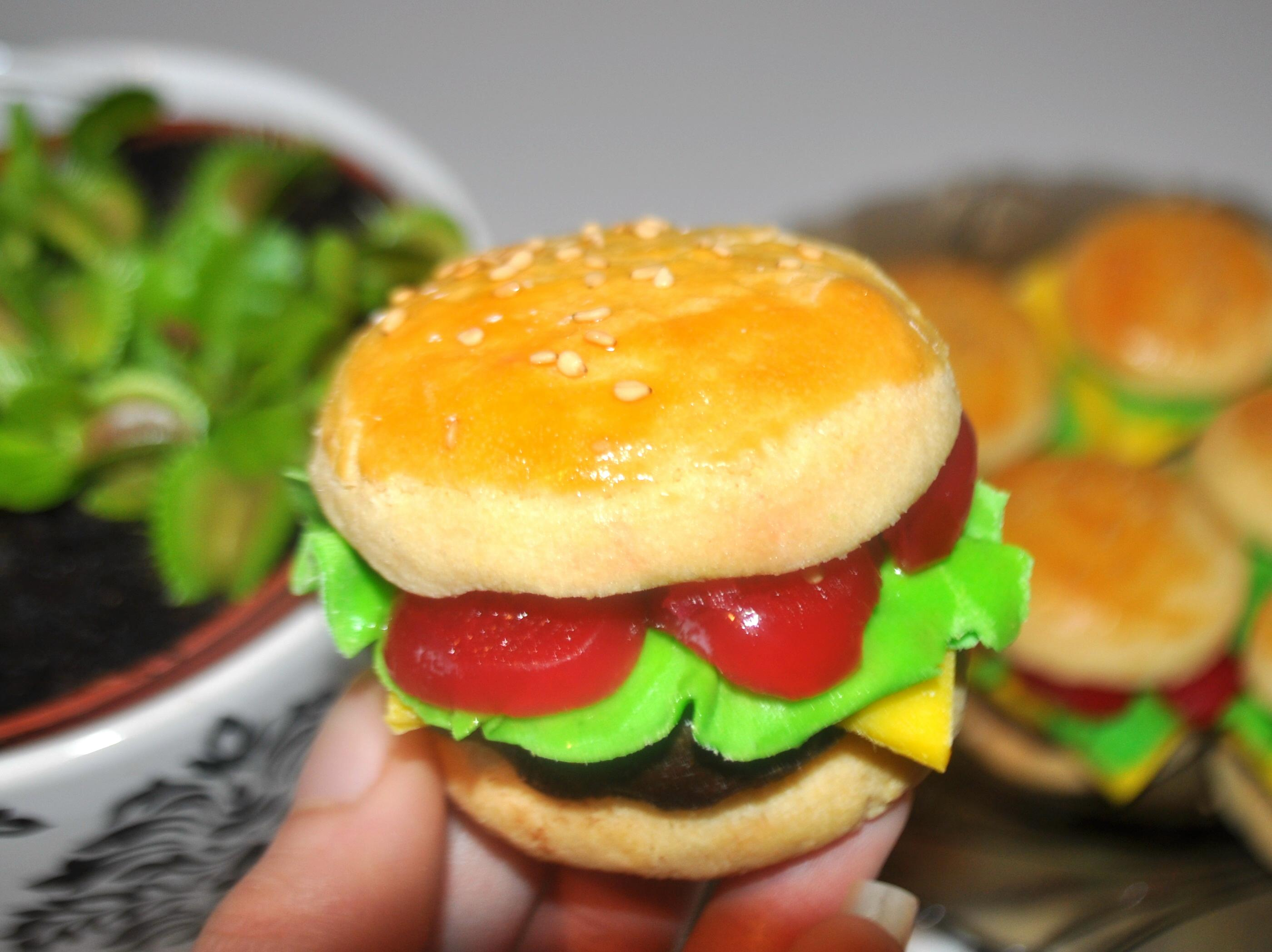 """Picture of Cookie """"burger Buns"""""""