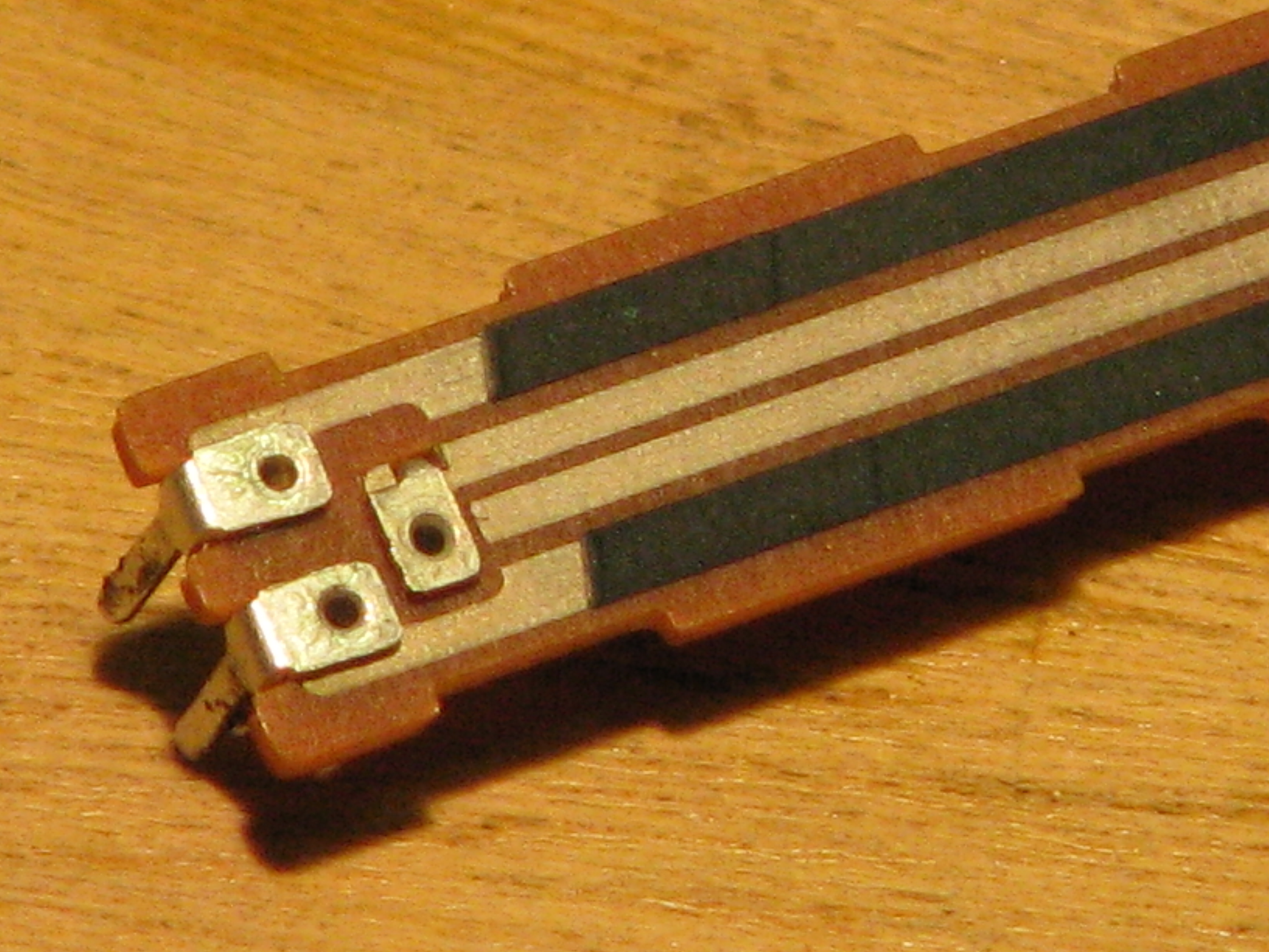Picture of Building the 'Keyboard'.