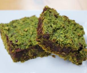 Green Oatmeal Breakfast Bars (gluten/dairy Free)