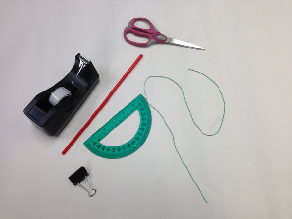 How to Make an Clinometer (measures Incline)