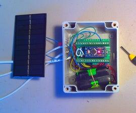 Arduino Pro-mini Data-logger