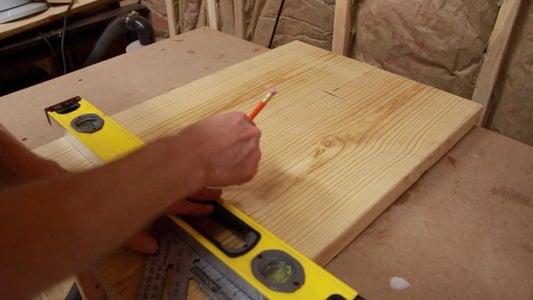 Glue the Desk Panels Together