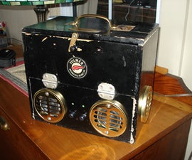 Steampunk Speaker box - my first Instructable