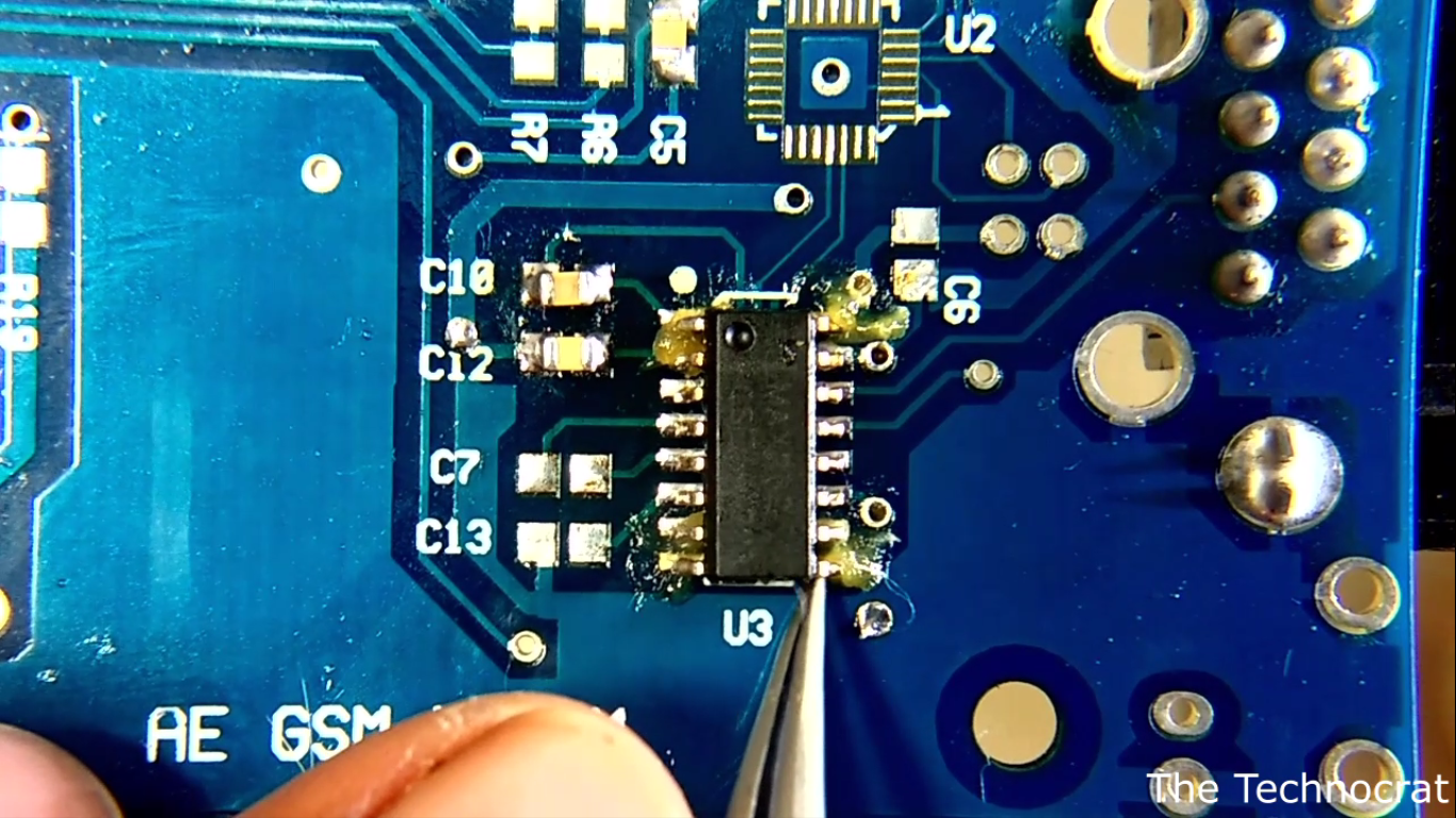 Picture of Hand Soldering