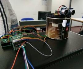 RadArduino - Radar made with Arduino Leonardo and Processing 3