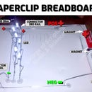 Homemade Breadboard Using Paperclips