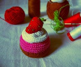 Amigurumi Sweet Cupcake