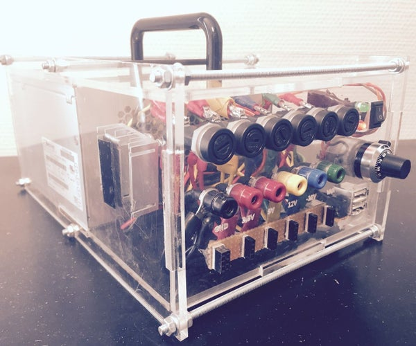 Variable ATX Bench Powersupply - FabLab Edition