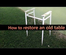 Restore an old table: Part 1