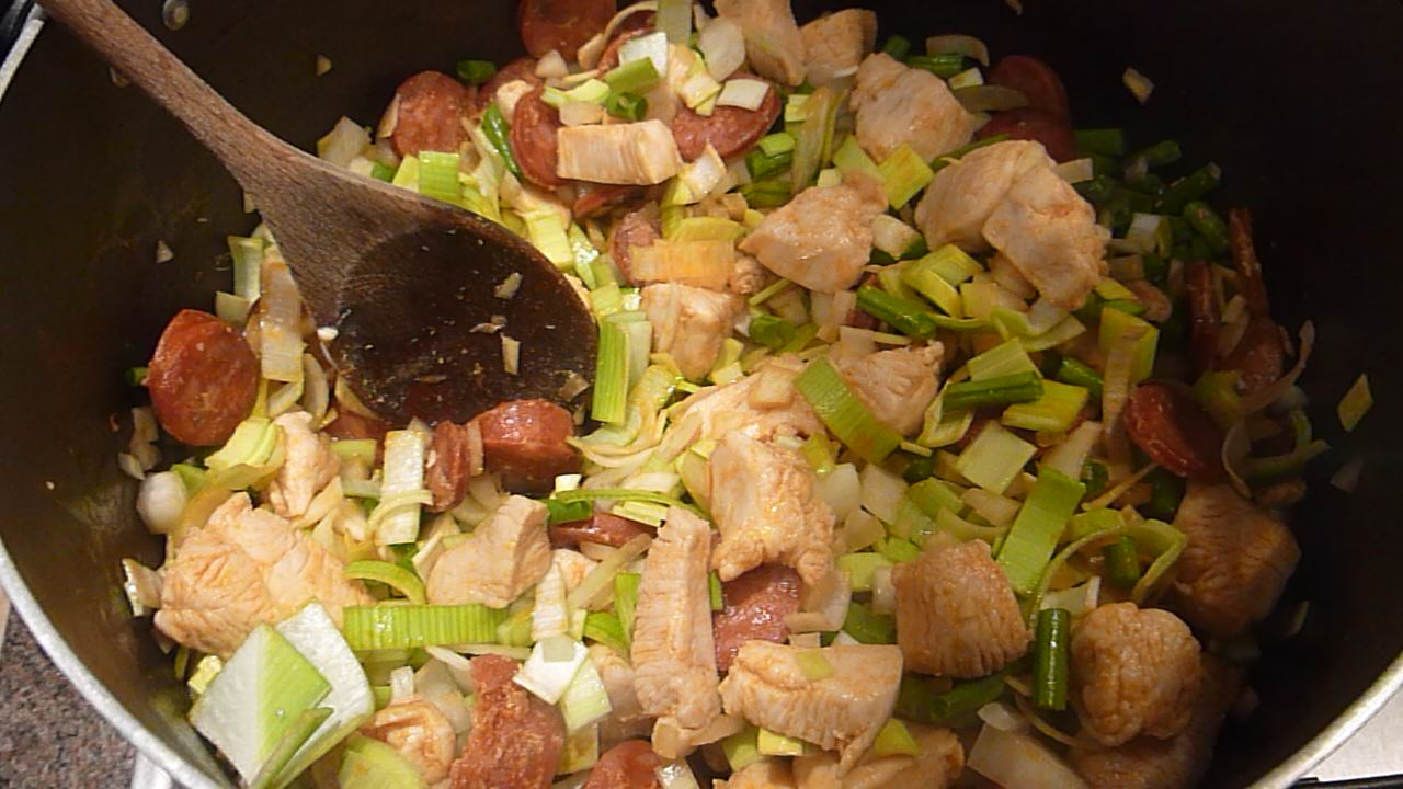 Picture of Sautéing the Vegetables