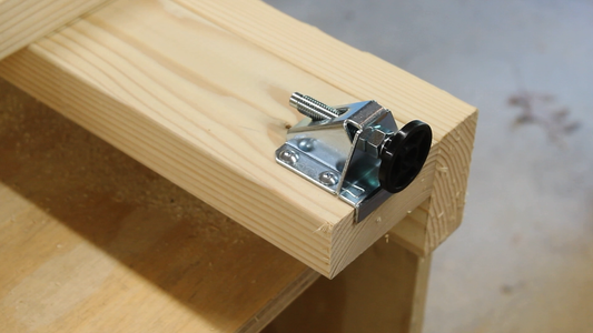 Attaching Leveling Feet
