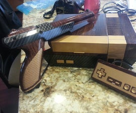 Vintage Crossover NES System and Zapper