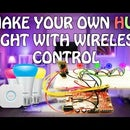 How to Make Your Own HUE Light Using Arduino and Control Wireless.