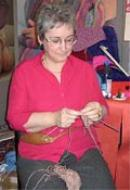 Picture of Fastest Knitter to Defend Title