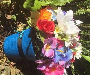 DIY Alice in Wonderland Flowers