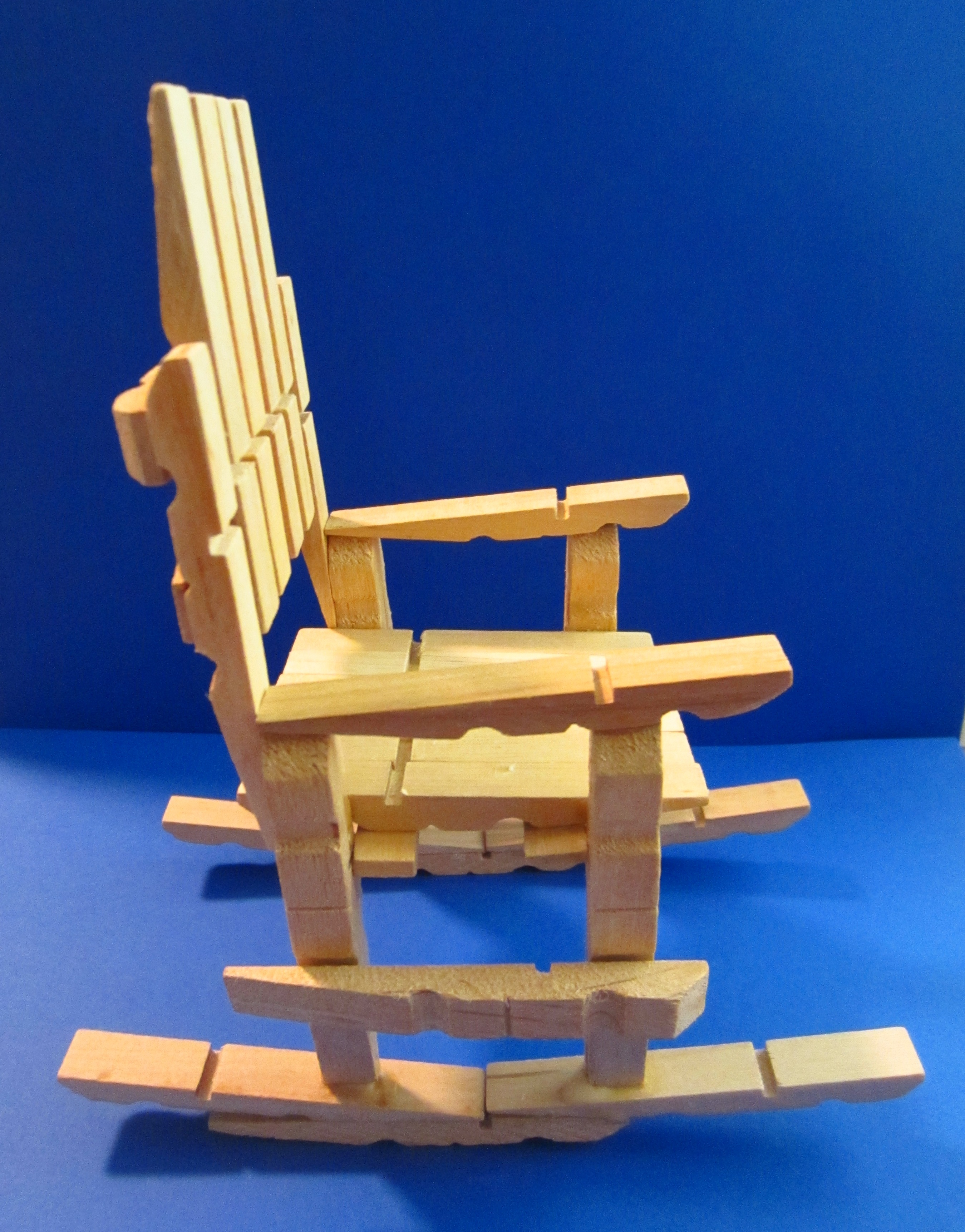 Picture of Clothespin Rocking Chair: So Easy to Make