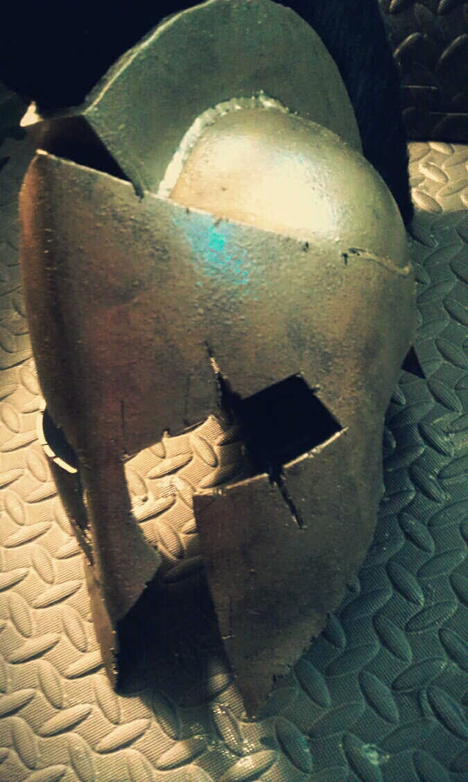 Picture of The Photo Shoot of the 300 Helmet
