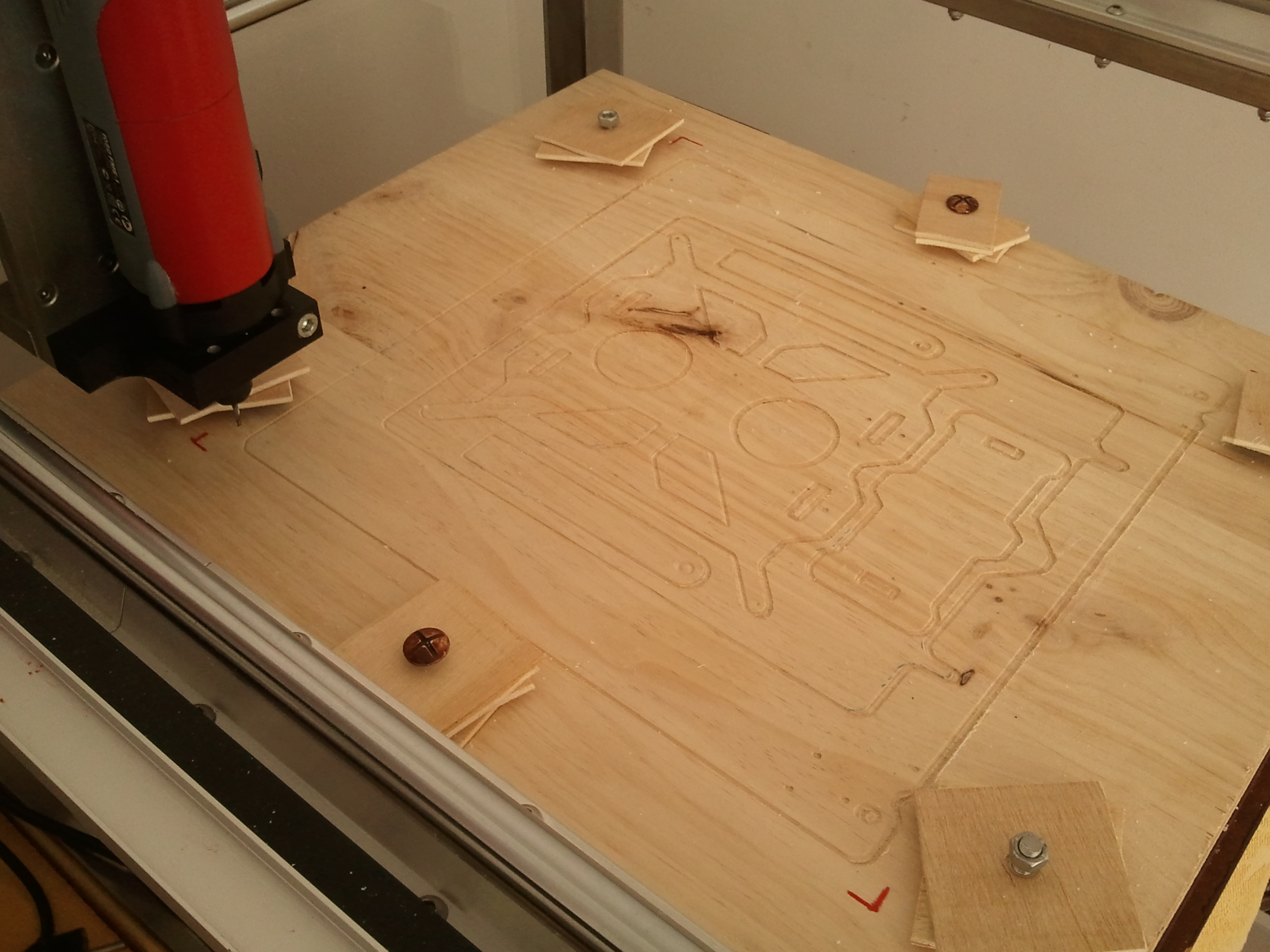 Picture of The Temporary CNC Bed Plate