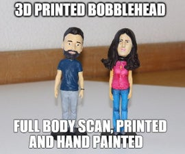 3D Printed Bobblehead - High Resolution Full Body Scanned and Hand Painted