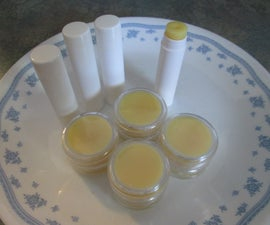 "DIY ""Bert's Bees"" Type Lip Balm"