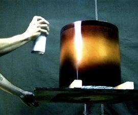 Drum Making: Spraying A Sunburst Finish