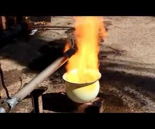 Simple Waste Oil Burners Construction