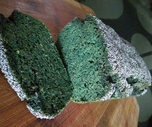 GREEN Gluten Free Garlic Bread (keto Friendly)