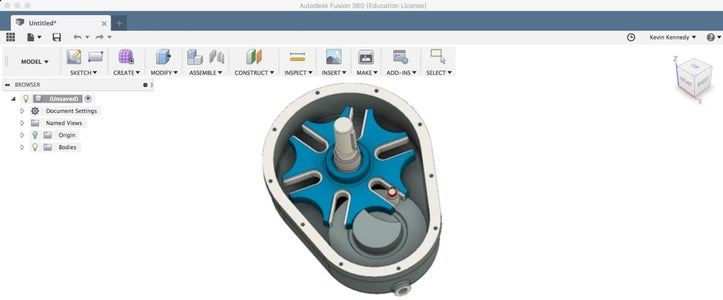 Adding Joints and Contact Sets to a Geneva Drive in Fusion 360