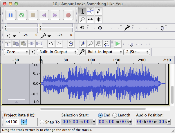 Picture of Audacity