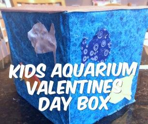 KIDS AQUARIUM VALENTINES BOX!!! (NO SEW!!)