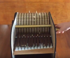 Programmable Mechanical Music Box