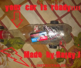 How to make a simple motor car with bottle