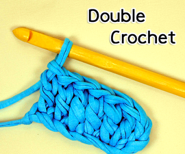 How to make the Double Crochet Stitch