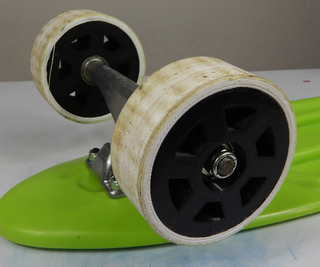 3d Printed 2-part Skateboard Wheels