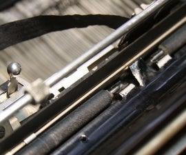 Repairing Typewriter Feed Rollers