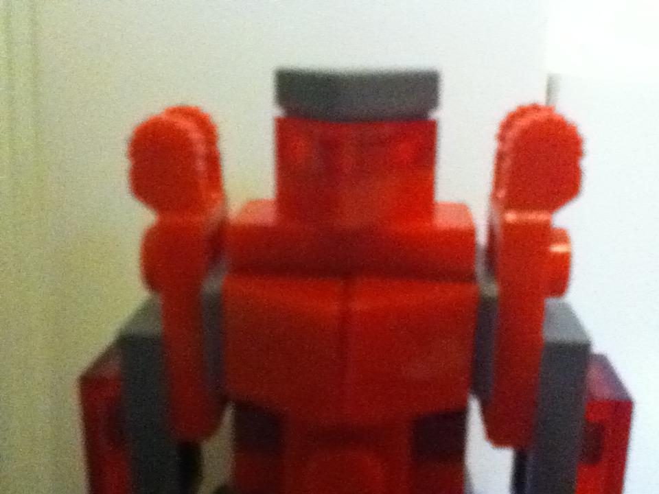 Picture of Mini Lego Pacific Rim Red Jaeger