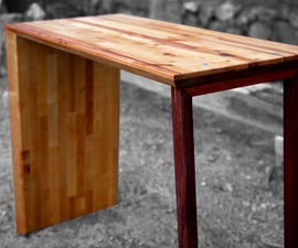 Modern Waterfall Table (The Obtuse Tables)
