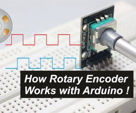 How Rotary Encoder Works With Arduino!