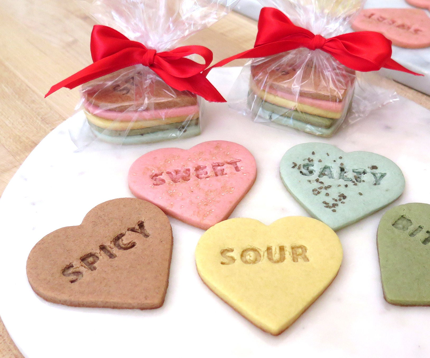 Stamped Heart Shortbread Cookies: 8 Steps (with Pictures)