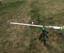 How to Make a Paintball Art Cannon!