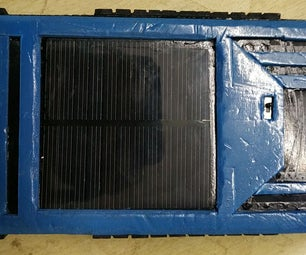 Solar Powered Power Bank From Scrap