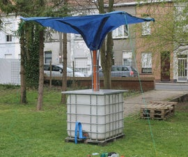 STAND-ALONE RAINWATER COLLECTOR