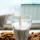 How to Milk an Almond (fresh homemade almond milk, easy)