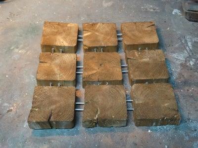 Fixing Wood Blocks