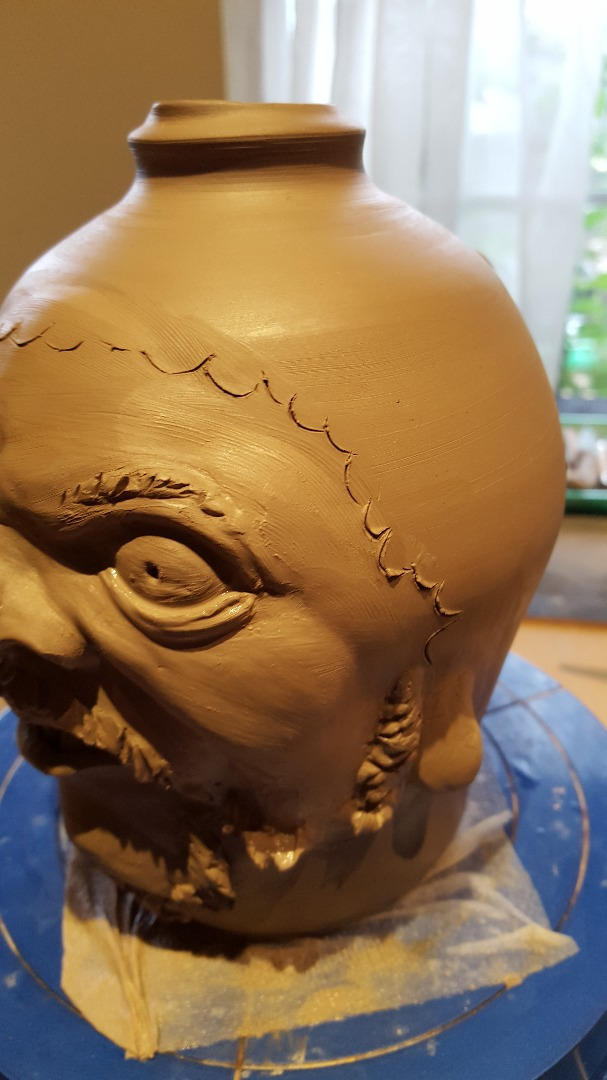 Picture of Work on the Hair - Save the Eyes for Last.