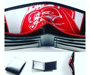 Custom Made Star Wars Bi Fold Wallet