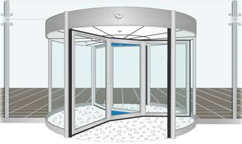 Picture of Automated Revolving Door With Mediatek Linkit One