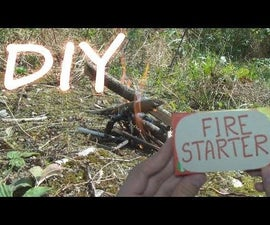 How to Make Fire Starter