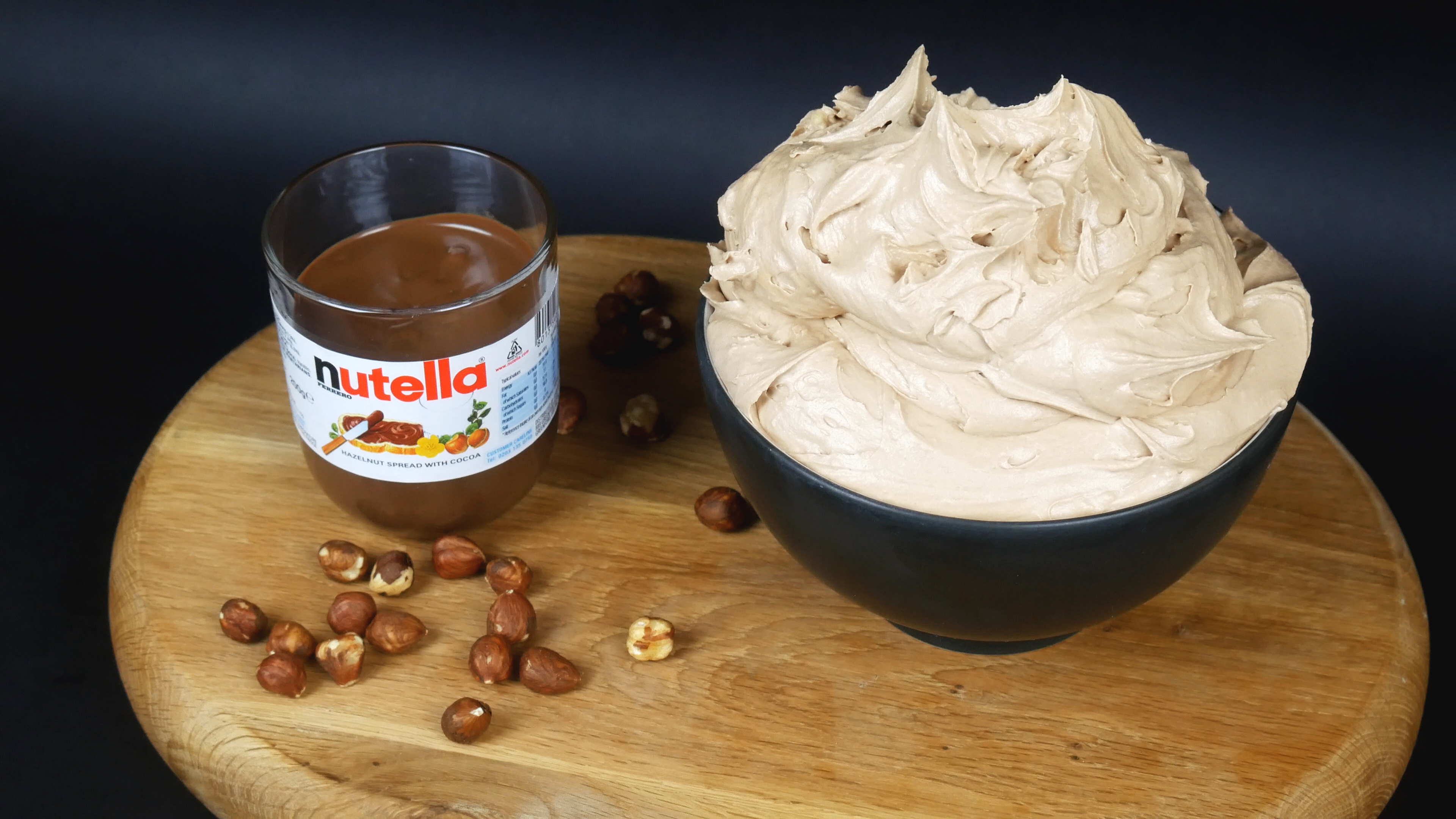 Picture of NUTELLA BUTTERCREAM (FROSTING / ICING)