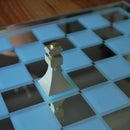 3D printed chess piece